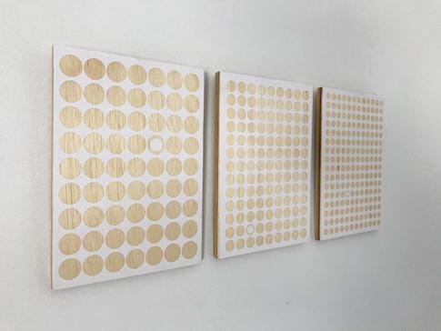 Adesivos sobre madeira 21x15cm  2017