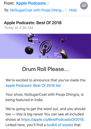 Apple Podcasts: Best of 2018