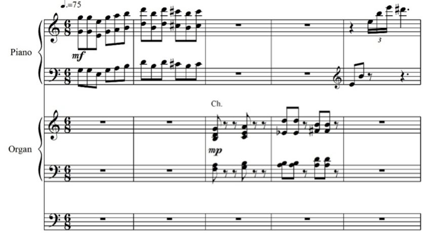 Transcendence: Tone Poem for Piano, Organ, and Voice