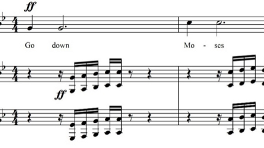 Deliverance: Spiritual Art Song Cycle for soprano and piano