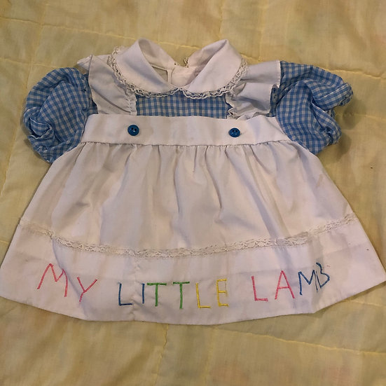 My Little Lamb dress