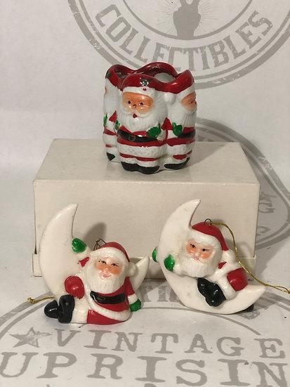 Vintage Santa Claus - Ornaments - Christmas Decorations