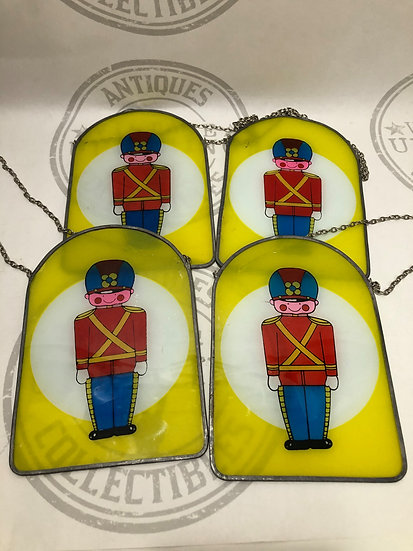Toy Soldiers Suncatchers - Soldier Boy Stain Glass - Window Hangings
