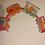 Thumbnail: Cloth Colorful Zoo Train Decorative Wall Hanging