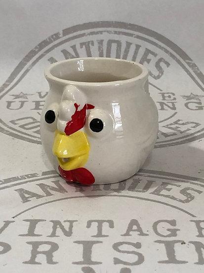Vintage Chicken Creamer Cup Kitschy