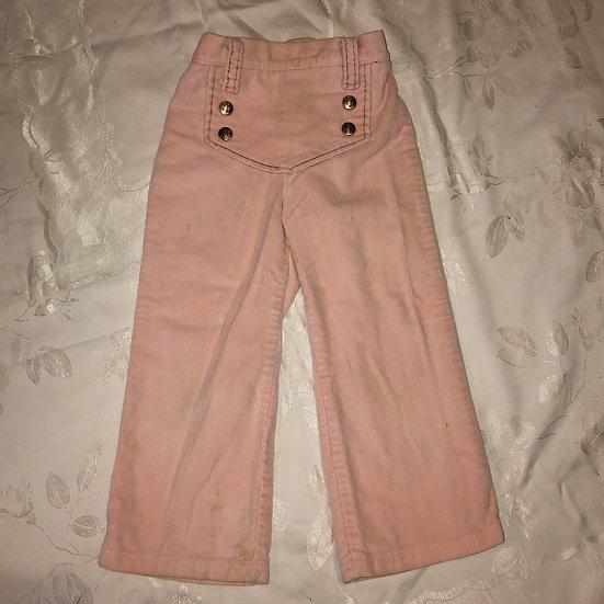 Winnie the Pooh Pink corduroy pants. 4T