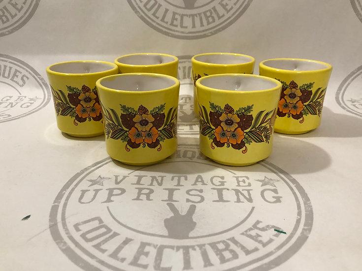 Vintage Dobrey 1973 Coffee Mugs