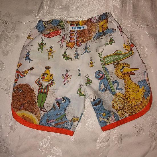 Sesame Street shorts