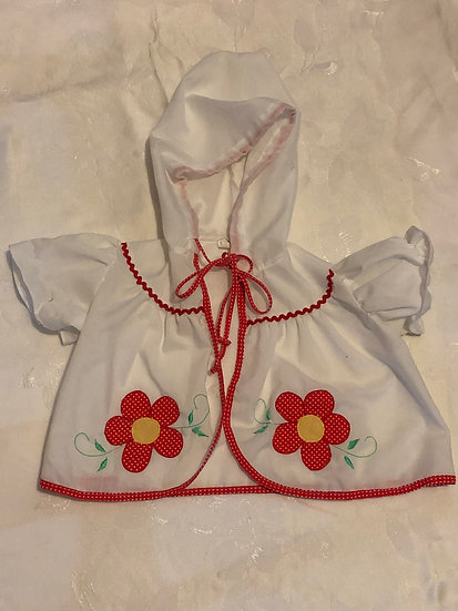 Baby Swim Suit Jacket Cover w/ Hoodie