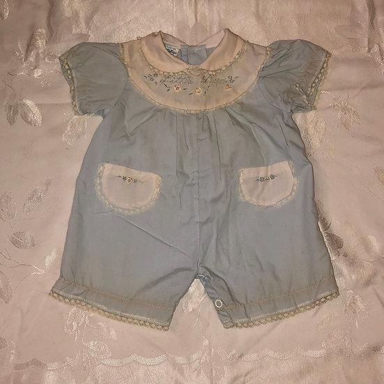 Little Doll light blue jumper