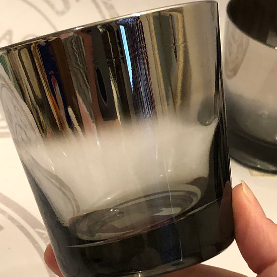 Dorothy Thorpe Style, Flared Glasses, Silver Fade Glasses, Old Fashioned Glasses