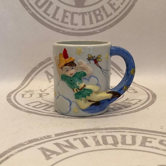 Peter Pan - J.S.N.Y. Jeffrey Snyder Disney Peter Pan 3D Embossed Raised Ceramic