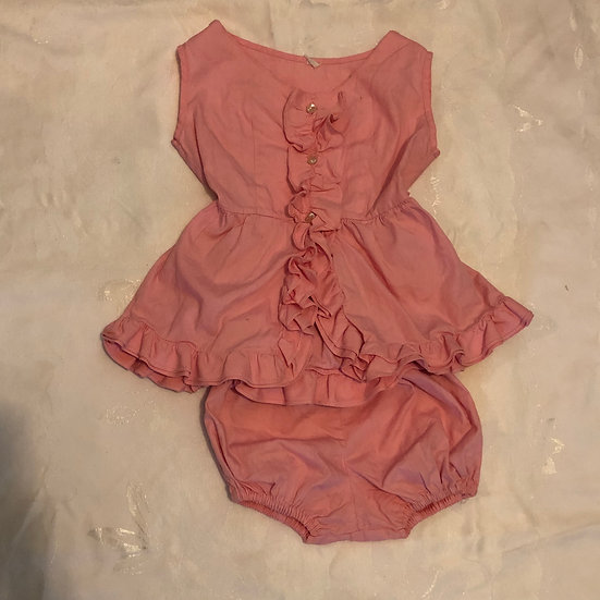 Pink 2 pc Summer Outfit