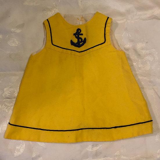 Yellow Sailor Dress