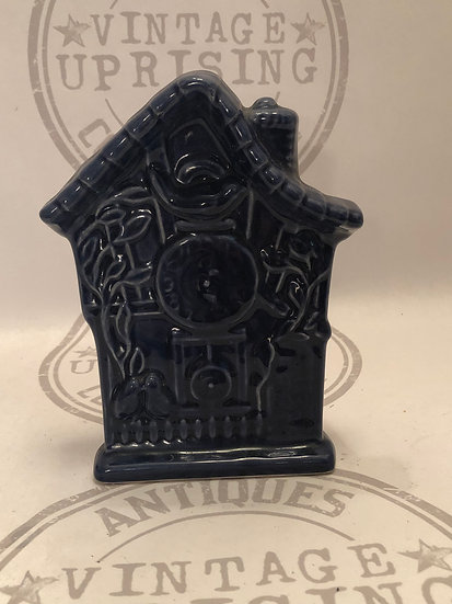 Vintage McCoy Bird House Planter, Cuckoo Clock Planter, McCoy USA