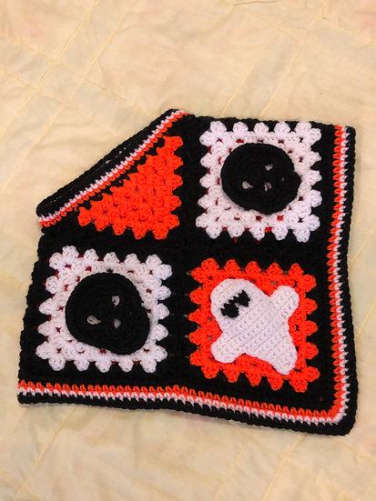 Halloween Crochet Poncho