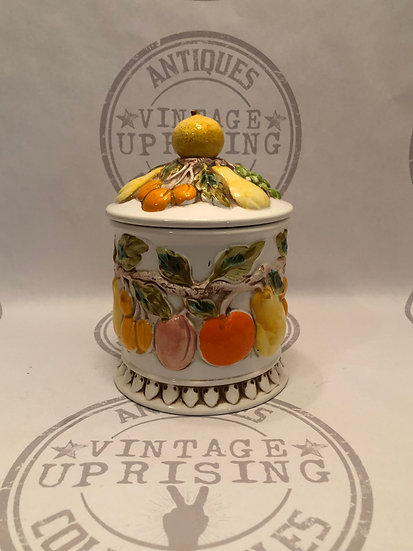 Lefton Cookie Jar - Canister Citrus Fruit
