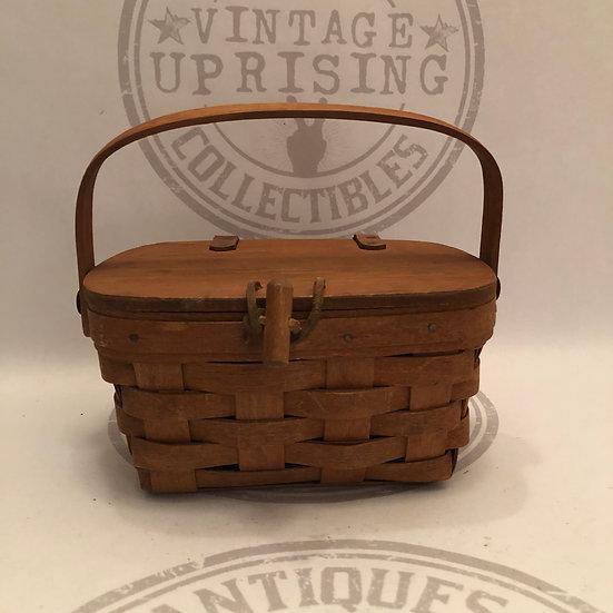 Vintage Picnic Longaberger Basket