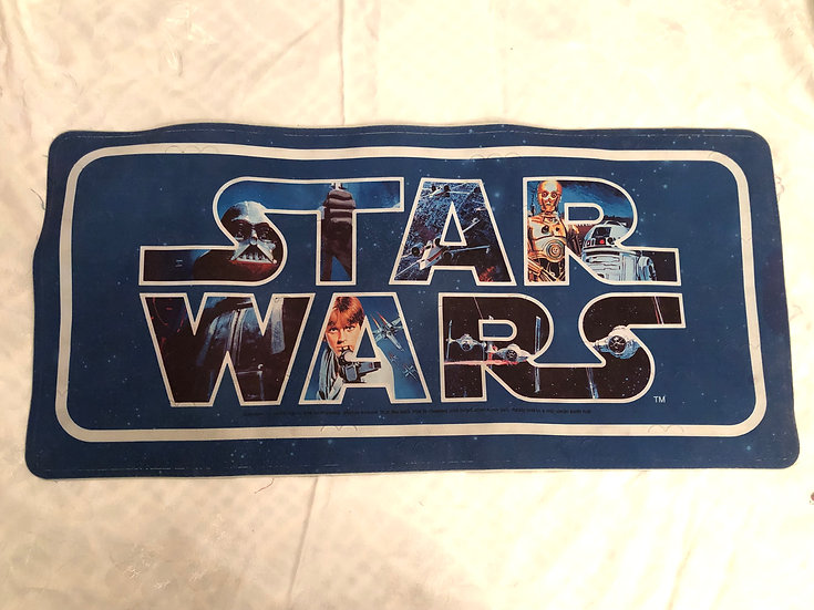 Vintage Star Wars Bath Mat
