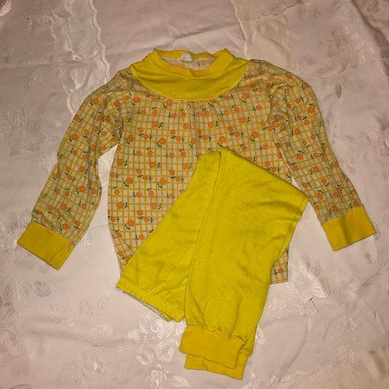 Yellow Pj set