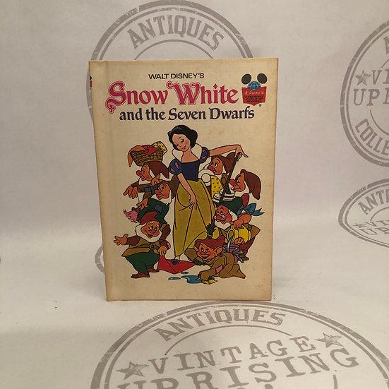 Vintage 1973 Walt Disney's Snow White and the Seven Dwarfs book (Disney's Wonder