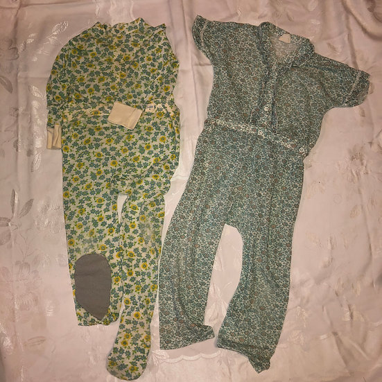 2 Sets of Girl PJ's size 4