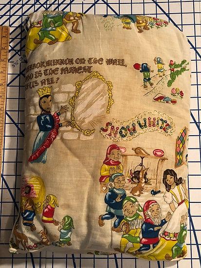 Rare Vintage Snow White Pillow 1940's