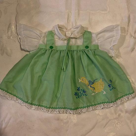 Green Duck Dress