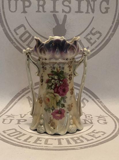 Beautiful Victorian Ceramic Flower Vase