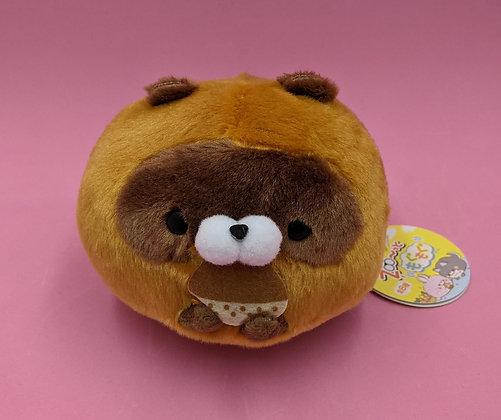 PLUSH PET BEAR w BUN