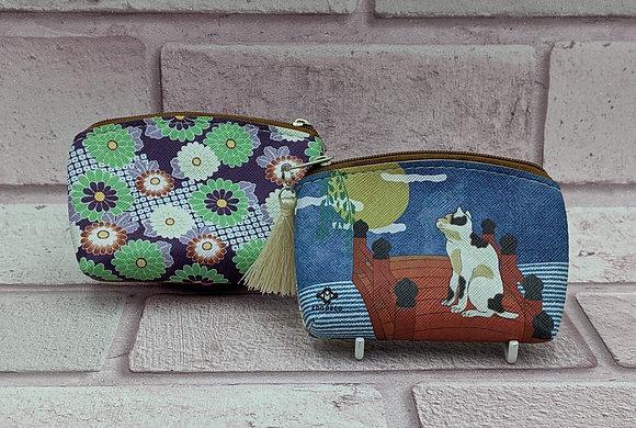 UKIYO-E CAT PURSE - MOON