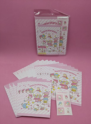 SANRIO CHARACTERS LETTER SET