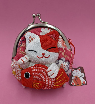 MANEKI NEKO COIN PURSE - BIG FISH