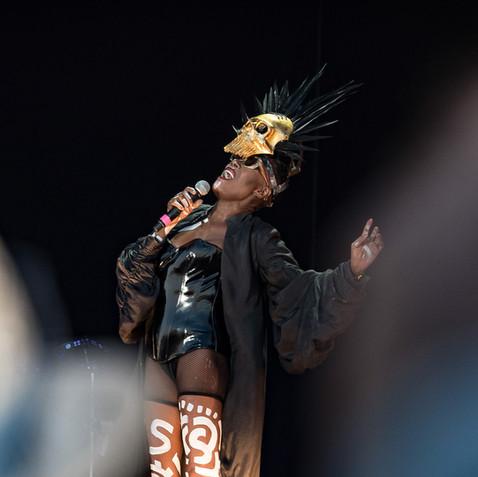 Grace Jones ~ Bristol Downs Festival
