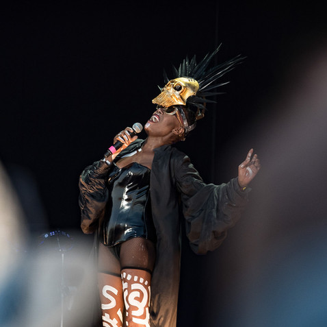 Grace Jones ~ Bristol Downs Festival