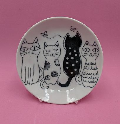 MULTI CAT TRINKET PLATE