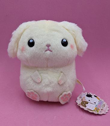 PLUSH PET WHITE DOG