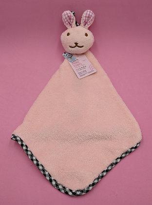 NURSERY TOWEL - PINK BUNNY