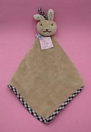 NURSERY TOWEL - BROWN BUNNY