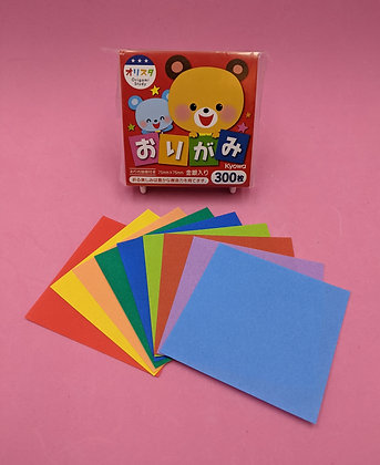 ORIGAMI PAPER - 15 COLOURS