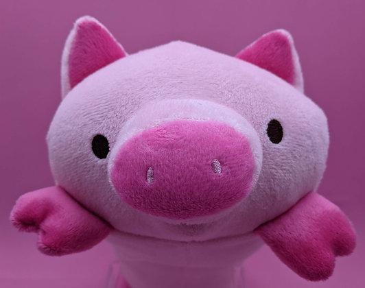 LONG PLUSH PIG