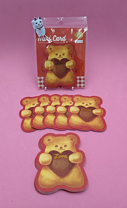 TEDDY LOVE NOTE CARDS