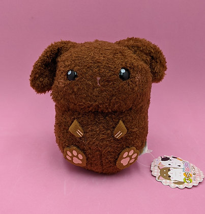 PLUSH PET BROWN DOG