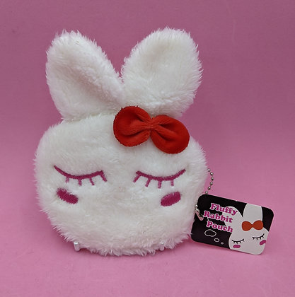 RABBIT PURSE - WHITE