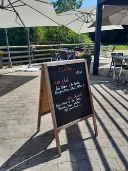 Les mercredis, jeudis et vendredis midi on vous propose dorénavant un menu !