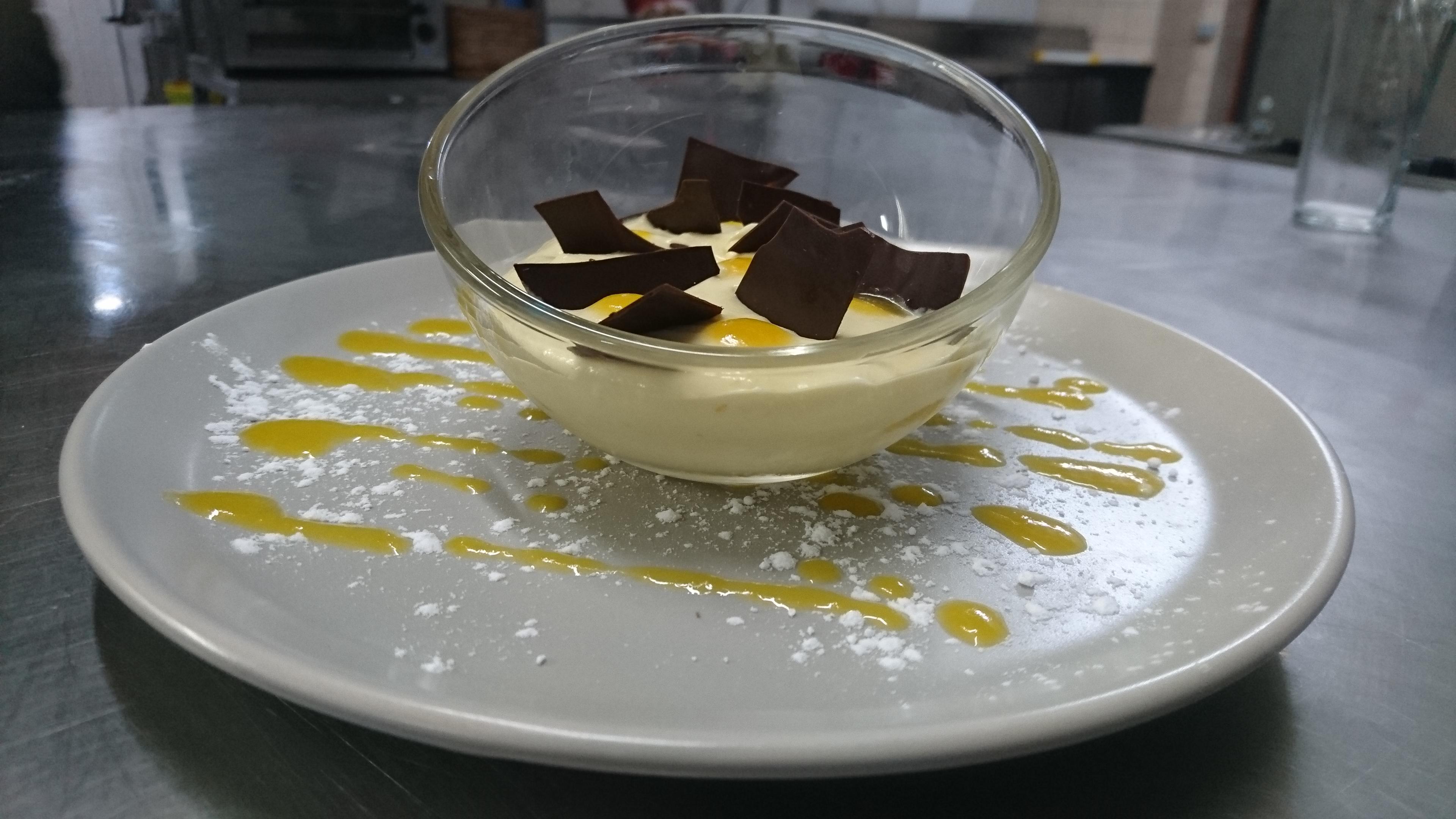 Crème mangue maison #hiver2019