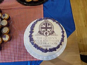 Queen's 90th Birthday Celebration Cake