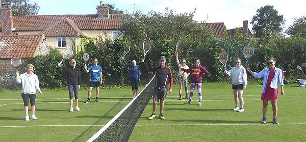 South Creake Tennis Club Adult Group