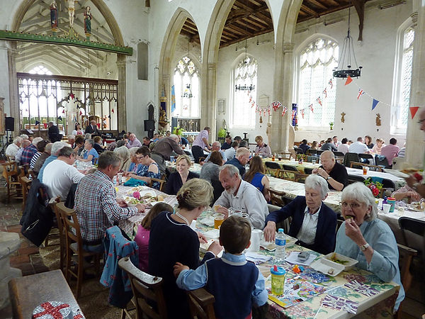 Queen's Diamond Jubilee Lunch at St Mary
