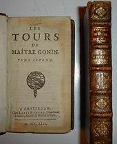 Les tours de maître Gonin M.DCC.XIII Bordelon